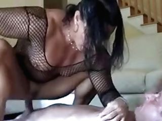 Athletic Mummy I'd Like To Fuck Does Squats On His Cane Til That Man Jizm