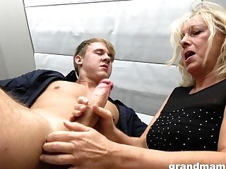 Hot Rent Boy Bangs Fuckfest-starved Old Woman Marta And Cums In Her Mouth