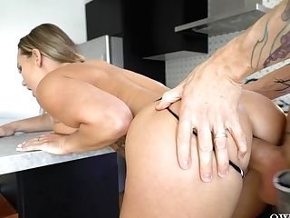 Stunning Housewife Cali Carter Is Fucked By Tattooed Fellow Horny Owen Gray