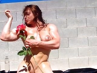 Eroticmusclevideos Brandimae Ripped Oiled Bod