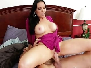 Lustful Mummy Mega-slut  Conforming Deville Is Screwed Bad In A Missionary Position
