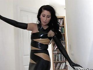 Sophie Starlet In Black Sundress And Stockings - Latexheavenvideo