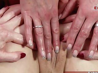 German Butt And Wifey Lezzie