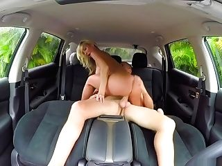 Brutal Fucking In Car
